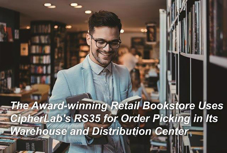 The Award-winning Retail Bookstore Uses CipherLab's RS35 for Order Picking in Its Warehouse and Distribution Center|Australia CipherLab world leader in AIDC solutions