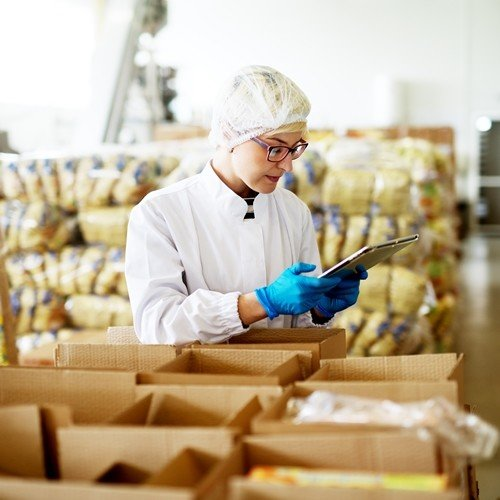 Warehousing Solution - CipherLab's RK25 Featuring a Pistol Grip Delivers an Excellent Performance in Warehouse Management in Food Production Industry  Australia CipherLab world leader in AIDC solutions