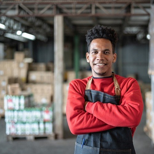 Warehousing Solution - Optimize Productivity and Efficiency by Using CipherLab's RS50 and RS31 to Create a Flawless Supermarket Distribution Center |Australia CipherLab world leader in AIDC solutions