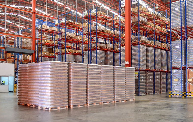 The RK25 Boosts Data Capture Ability In A Finished Goods Warehouse With Its Mid-range 2D Imager Reader CipherLab a world leader in AIDC solutions