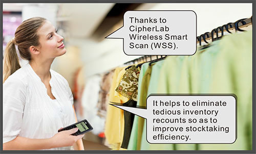 CipherLab Wireless Smart Scan improves stocktaking-Cipher Lab world leader in AIDC solutions