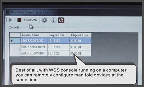 WSS remotely configure manifold device at the same time-Cipher Lab world leader in AIDC solutions