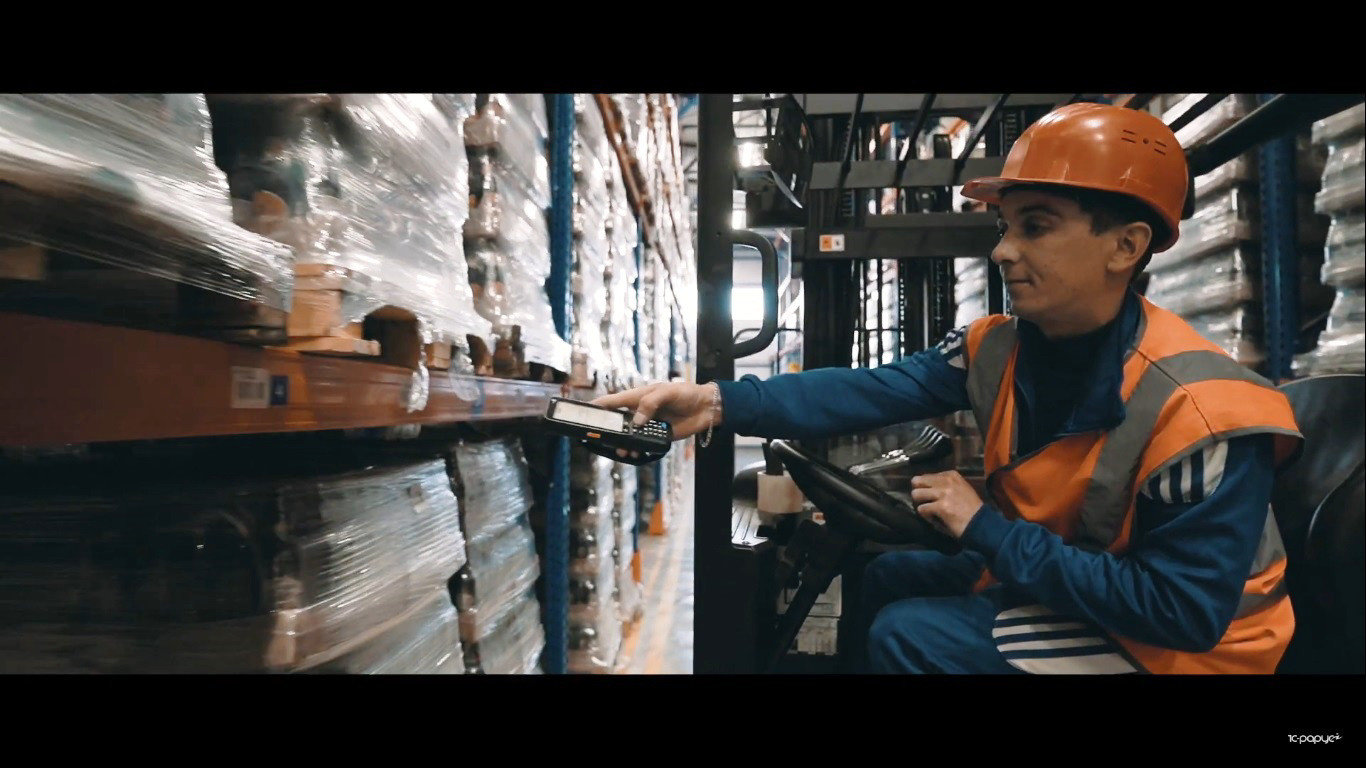 CipherLab RK25 And 1C-Rarus WMS Software Help Automate Finished Goods Warehouse at Balakovsky Brewery