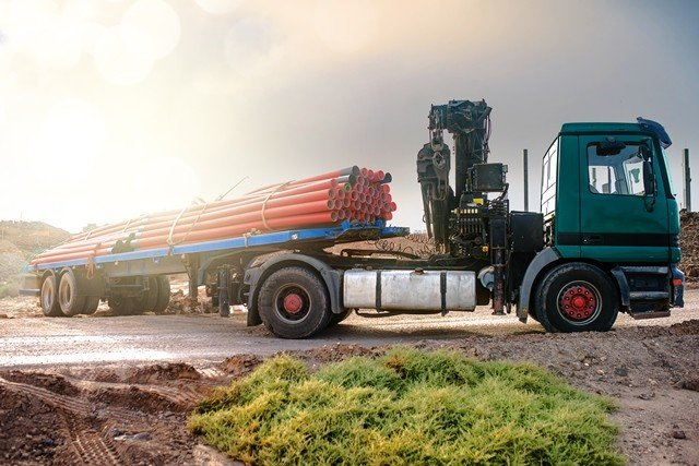 The CipherLab RS31 Series Helps Truck Drivers Deliver High Volumes of Materials More Accurately
