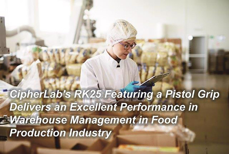 CipherLab's RK25 Featuring a Pistol Grip Delivers an Excellent Performance in Warehouse Management CipherLab a world leader in AIDC solutions