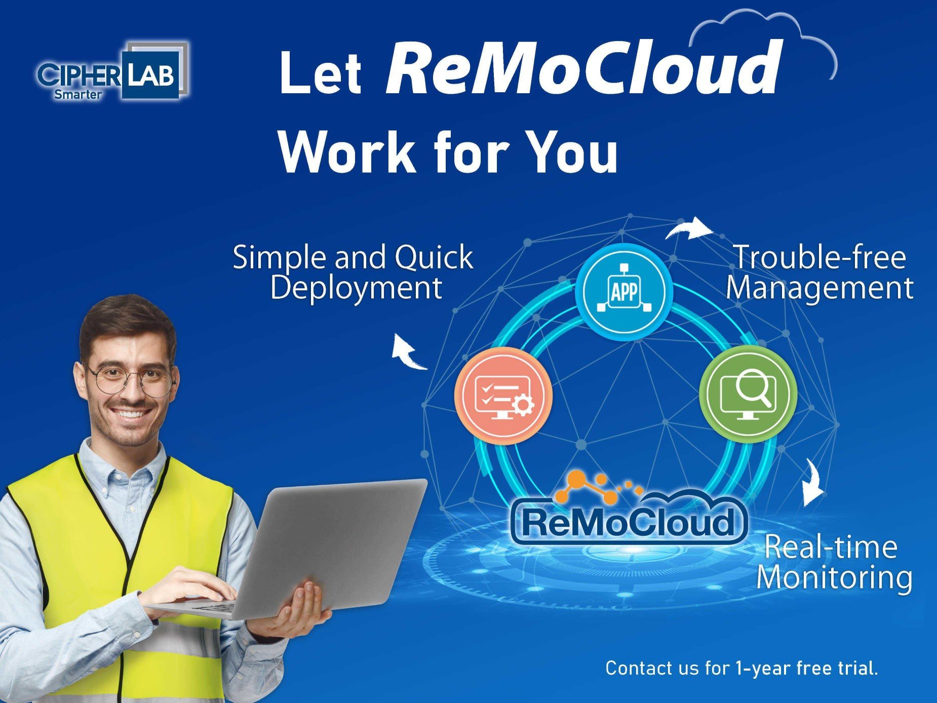 Let ReMoCloud Work for You (Free Trial)