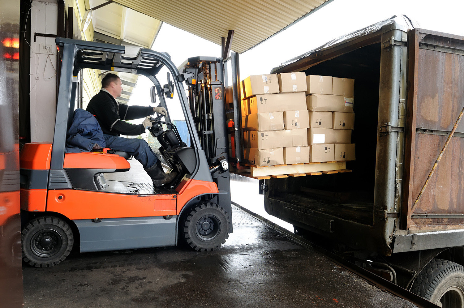 Transportation and logistics Applications - Load Management|Australia CipherLab world leader in AIDC solutions