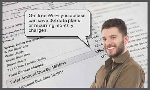 Auto-connecting to access Wi-Fi hotspots with CipherLab WISPr-get free Wi-Fi access save 3G data plans