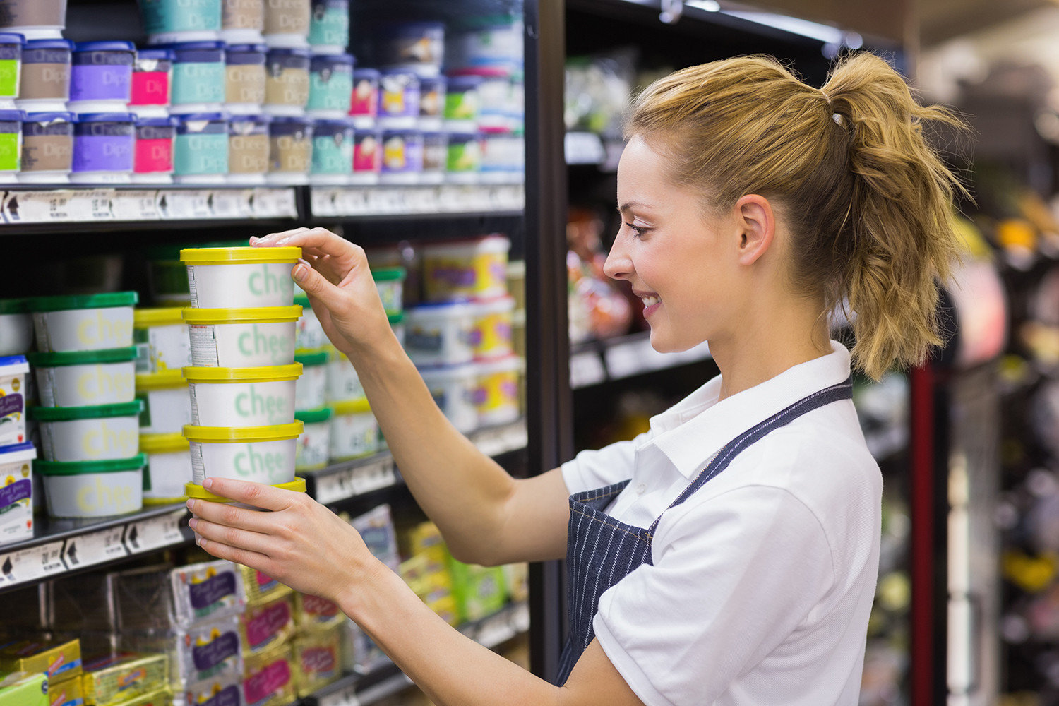 Retail Applications - Shelf Product Replenishment|Australia CipherLab world leader in AIDC solutions