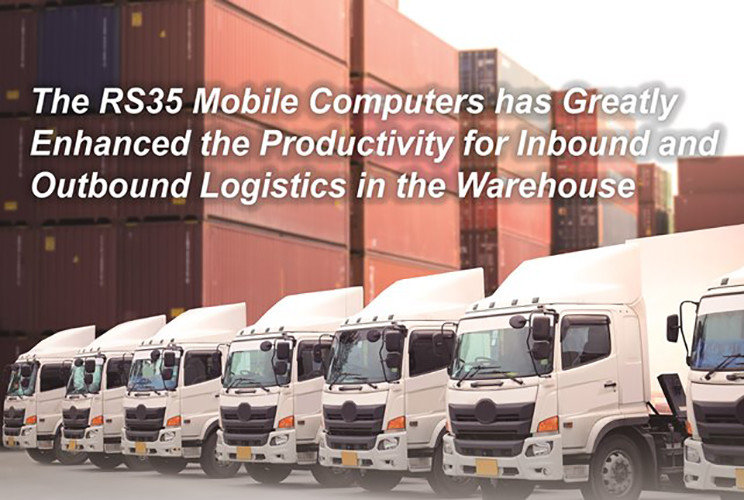 The RS35 Mobile Computers has Greatly Enhanced the Productivity for Inbound and Outbound Logistics in the Warehouse|Australia CipherLab world leader in AIDC solutions