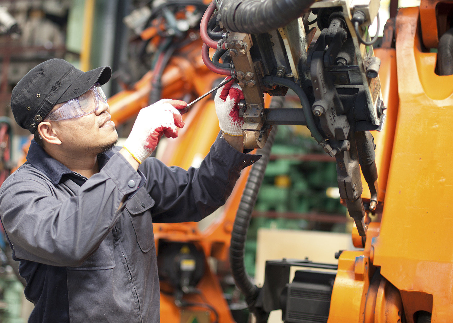 Manufacturing Applications - Plant Maintenance and Repair|Australia CipherLab world leader in AIDC solutions
