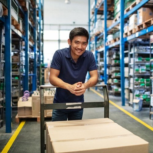 Warehousing Solution - Leading Power Supply Provider Implements CipherLab's RS31 and RS51 Series and SAP's WMS System to Improve Its Warehouses Management  Australia CipherLab world leader in AIDC solutions