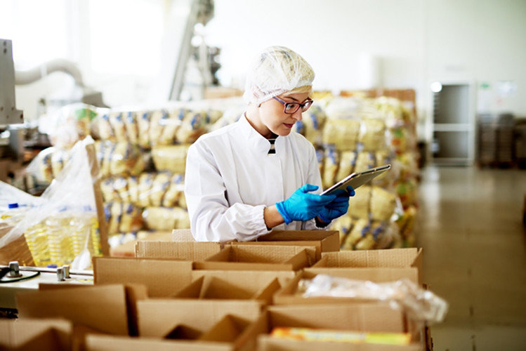 CipherLab's RK25 Featuring a Pistol Grip Delivers an Excellent Performance in Warehouse Management in Food Production Industry CipherLab a world leader in AIDC solutions