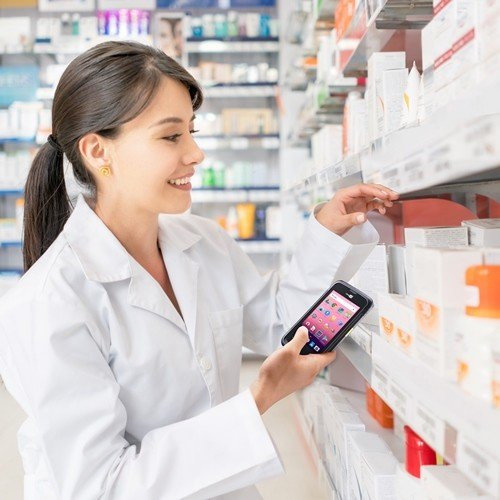 The CipherLab RS31 Keeps Chain Pharmacy In-store Stocks More Accurate