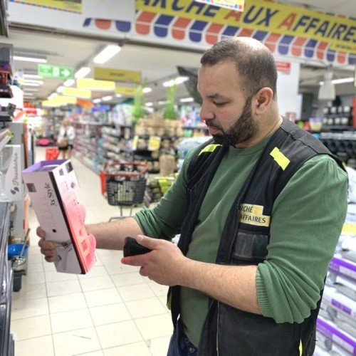 Marche Aux Affaires Discount Stores Increase Employee's Work Efficiency for Inventory Management