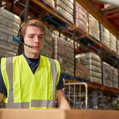 CipherLab RS50 Series - Voice Picking Solution for Warehouse Operation Optimization