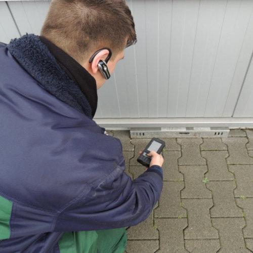 CipherLab CP30 mobile computer prevents rat infestation