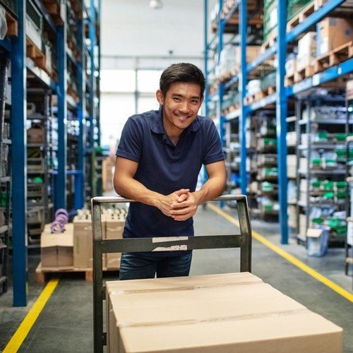 Warehousing Solution|Leading Power Supply Provider Implements Rugged Touch Mobile Computers and SAP's WMS System to Improve Its Warehouses Management